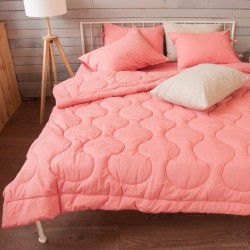 Одеяло-пододеяльник из вареного хлопка Coral