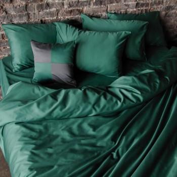 Простыня на резинке из сатина Emerald Lux