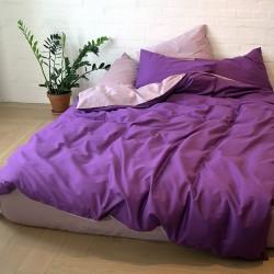 Комплект двуспальный из сатина двусторонний Соsmo+Lilu