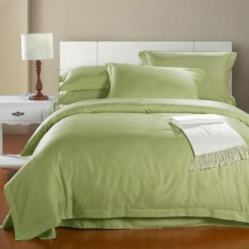 Комплект 1,5-спальный из сатина Фисташка